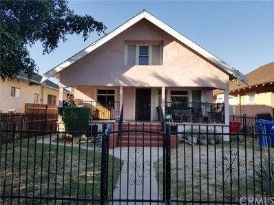361 W 47th Place, Los Angeles, CA 90037 - MLS#: PW17226002