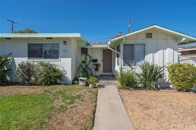 725 N Bush Street, Anaheim, CA 92805 - MLS#: PW17230836