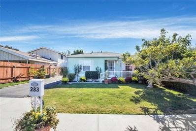 283 Del Mar Avenue, Costa Mesa, CA 92627 - MLS#: PW17232440
