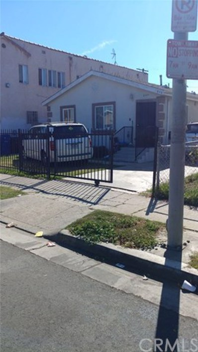 844 W 54th Street, Los Angeles, CA 90037 - MLS#: PW17233422