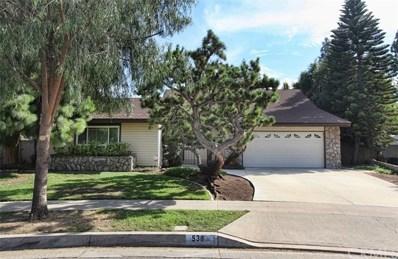 538 Tahoe Avenue, Placentia, CA 92870 - MLS#: PW17253951