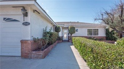 2540 W Greenbrier Avenue, Anaheim, CA 92801 - MLS#: PW17254206