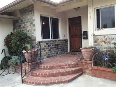 701 Laura Street, La Habra, CA 90631 - MLS#: PW17261096