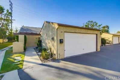 387 N Ironpike Circle UNIT 24, Anaheim, CA 92807 - MLS#: PW17275175