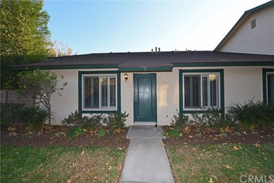 1721 N Rainwood Circle UNIT A, Anaheim, CA 92807 - MLS#: PW17278145