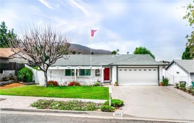 1464 Vallejo Drive, Corona, CA 92882 - MLS#: PW18018555