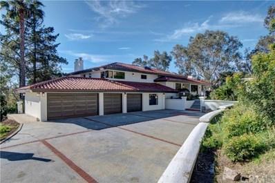 1001 El Terraza Drive, La Habra Heights, CA 90631 - MLS#: PW18019715