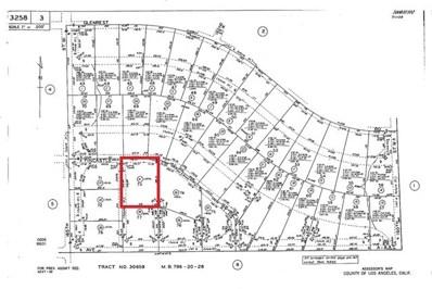 0 164w Fvt St + Avenue A7, Lancaster, CA 93536 - MLS#: PW18023970