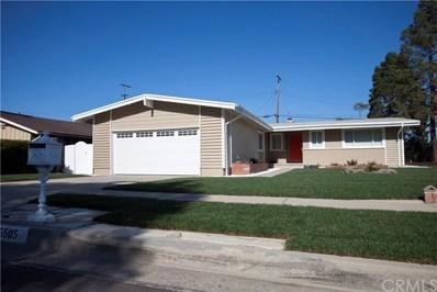 5505 Eau Claire Drive, Rancho Palos Verdes, CA 90275 - MLS#: PW18025160