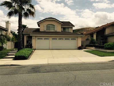 1833 Big Oak Avenue, Chino Hills, CA 91710 - MLS#: PW18029015