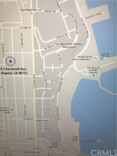 0 Kerckhoff Avenue, San Pedro, CA  - MLS#: PW18030801