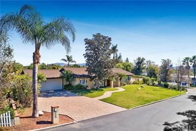 4598 Danita Lane, Yorba Linda, CA 92886 - MLS#: PW18037260