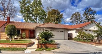 2749 Aubrey Place, Fullerton, CA 92833 - MLS#: PW18045236