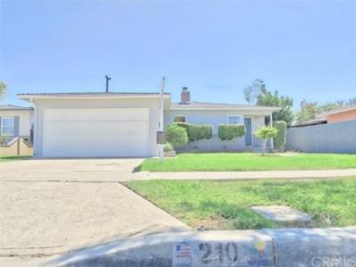 210 E Locust Avenue, Orange, CA 92867 - MLS#: PW18047016
