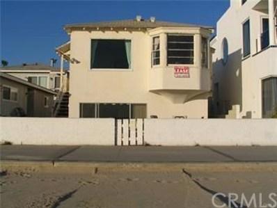 1722 W Oceanfront, Newport Beach, CA 92663 - MLS#: PW18049041