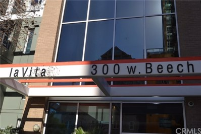 300 W Beech Street UNIT 1204, San Diego, CA 92101 - MLS#: PW18053497