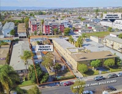 527 W Hyde Park Boulevard, Inglewood, CA 90302 - MLS#: PW18054053