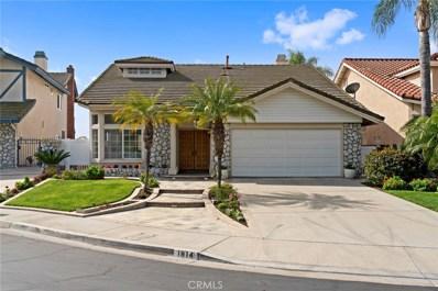 1814 Somerset Lane, Fullerton, CA 92833 - MLS#: PW18065383