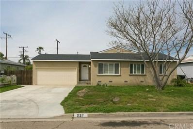 227 N Aladdin Drive, Anaheim, CA 92801 - MLS#: PW18071930