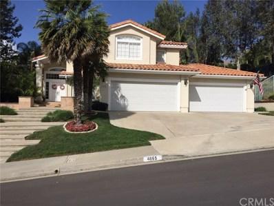 4865 Stonehaven Drive, Yorba Linda, CA 92887 - MLS#: PW18083540