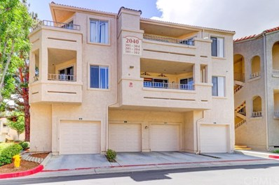 2040 Las Colinas Circle UNIT 201, Corona, CA 92879 - MLS#: PW18087860