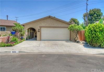 503 W Sherman Avenue, Gardena, CA 90248 - MLS#: PW18089405