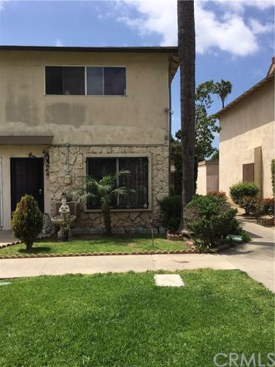 1602 N King Street UNIT O1, Santa Ana, CA 92706 - MLS#: PW18103056