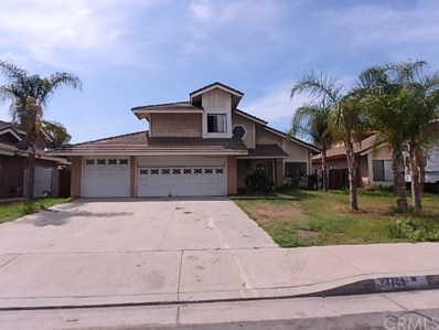24409 Fiji Drive, Moreno Valley, CA 92551 - MLS#: PW18108634