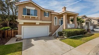 1241 Mira Valle Street, Corona, CA 92879 - MLS#: PW18109381