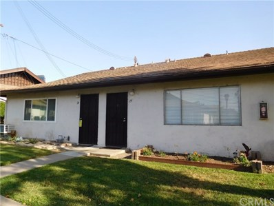 1800 E Heim Avenue UNIT 19, Orange, CA 92865 - MLS#: PW18114382
