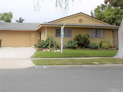 5741 Myra Avenue, Cypress, CA 90630 - MLS#: PW18116267