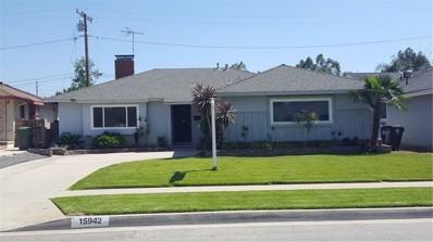 15942 Stanmont Street, Whittier, CA 90603 - MLS#: PW18117846