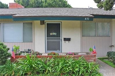431 E 1st Street, Tustin, CA 92780 - MLS#: PW18121707