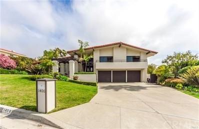 1406 Via Coronel, Palos Verdes Estates, CA 90274 - MLS#: PW18125809