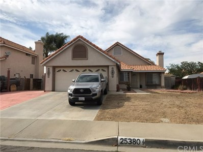 25380 Ivory Avenue, Moreno Valley, CA 92551 - MLS#: PW18127158