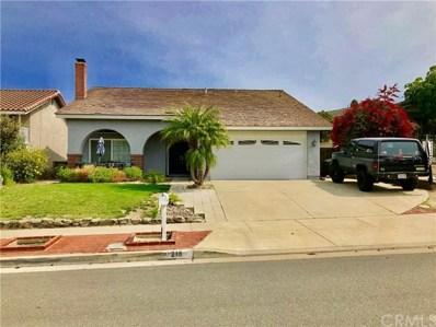 218 S Francisco Place, Anaheim Hills, CA 92807 - MLS#: PW18127372