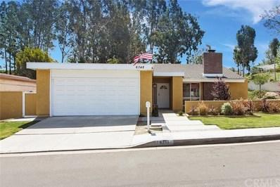 6348 E Via Estrada, Anaheim Hills, CA 92807 - MLS#: PW18133177