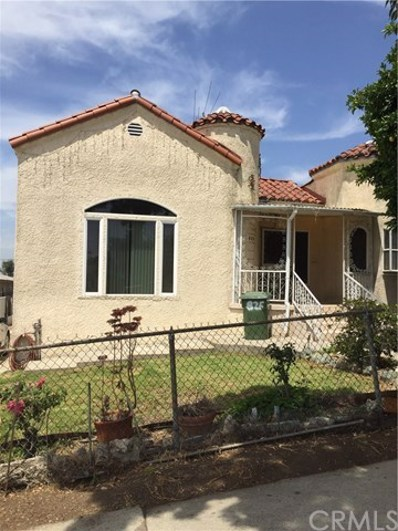 825 N Ditman Avenue, Los Angeles, CA 90063 - MLS#: PW18133799