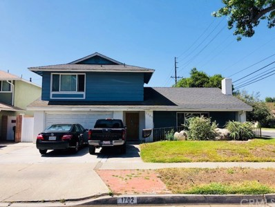 1702 E Fruit Street, Santa Ana, CA 92701 - MLS#: PW18143521