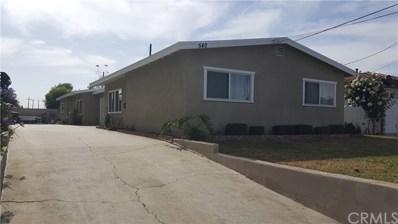 540 S Euclid Street, La Habra, CA 90631 - MLS#: PW18144483