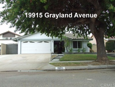19915 Grayland Avenue, Cerritos, CA 90703 - MLS#: PW18150221