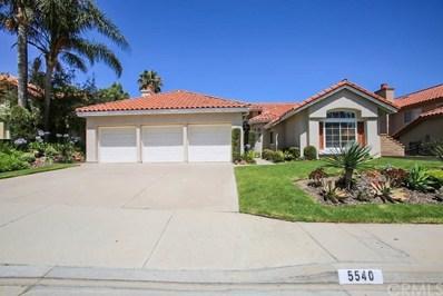 5540 RUNNING SPRING Way, Yorba Linda, CA 92887 - MLS#: PW18154438