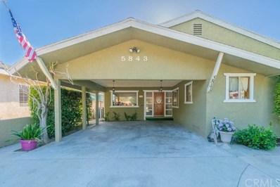 5843 Fidler Avenue, Lakewood, CA 90712 - MLS#: PW18155214