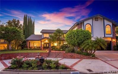 22255 Rolling Hills Lane, Yorba Linda, CA 92887 - MLS#: PW18159978