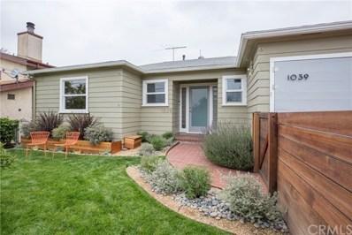 1039 N Glen Arbor Avenue N, Eagle Rock, CA 90041 - MLS#: PW18160222