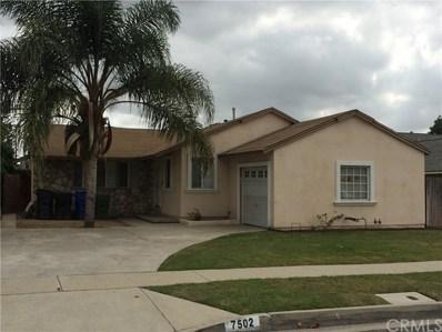 7502 Halray Avenue, Whittier, CA 90606 - MLS#: PW18160357