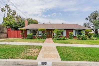 805 Oakman Drive, Whittier, CA 90601 - MLS#: PW18163892