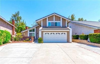 6090 E Calle Cedro, Anaheim Hills, CA 92807 - MLS#: PW18170295