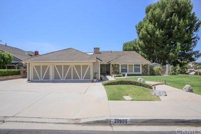 20905 Quail Circle, Yorba Linda, CA 92886 - MLS#: PW18182890