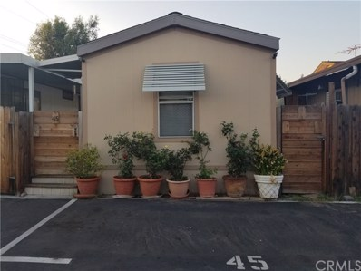 825 W La Palma Avenue UNIT 45, Anaheim, CA 92801 - MLS#: PW18185240